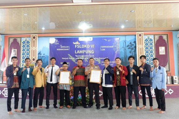 Forum Silaturahmi Lembaga Dakwah Kampus Daerah Lampung Gelar Sekolah Kebangsaan