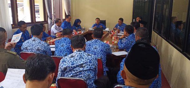 Pemkab Lampung Barat Rapat Kerja Persiapan MTQ Ke-23 Tingkat Kabupaten