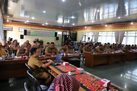 Hari Santri Pengurus PKS Lampung Apel Sarungan
