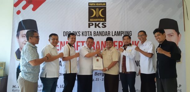 Pilkada Bandar Lampung 2020: Yusuf Kohar Kembalikan Berkas ke PKS