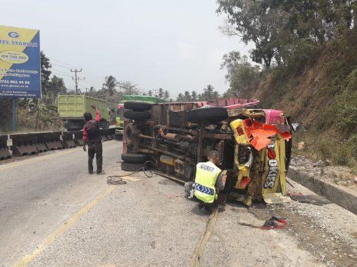 Kecelakaan Maut Tanjakan Tarahan 4 Tewas, Ini Penjelasan Polres Lampung Selatan