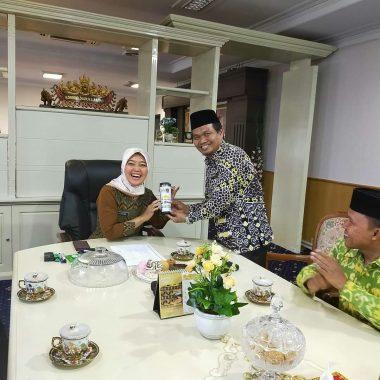 Mufti Salim Pimpin Fraksi PKS Diskusi Soal Lampung Berjaya dengan Gubernur dan Wakil Gubernur Lampung