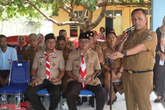 Pemkab Lampung Selatan Salurkan Bantuan Kapal Laut Bagi Nelayan Korban Tsunami