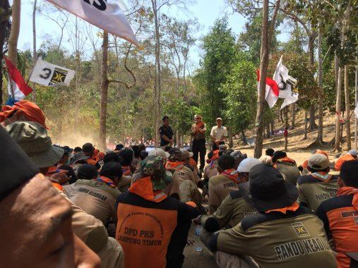 Ratusan Kader PKS Lampung