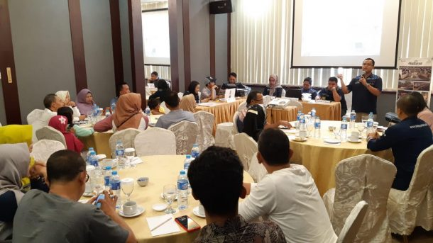 Perumnas Lampung Gelar Pertemuan dengan Konsumen Cluster Bukit Mutiara