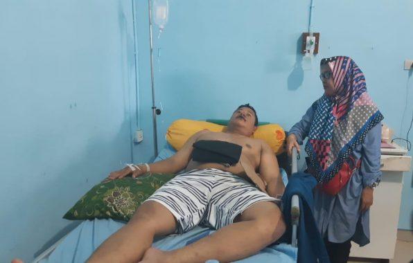 Edo Wahyudi Pengemudi Gojek Dikeroyok di Hotel Sahid