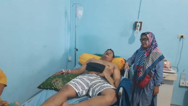 Usai Dikeroyok di Hotel Sahid, Pengemudi Gojek di Bandar Lampung Edo Wahyudi Kehilangan Ponsel dan Uang Total Kerugian Rp8 Jutaan