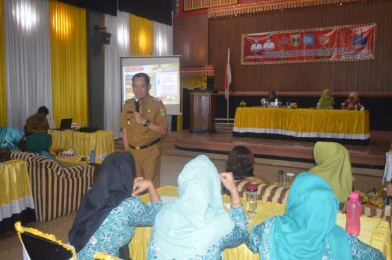 Wakil Bupati Tanggamus AM Syafii Hadiri Pelatihan PKK di Kecamatan Gisting