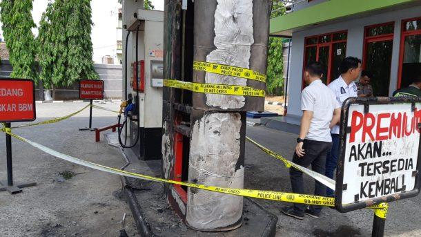 Pegawai Sigap, Api di SPBU Jalan Cut Nyak Dien Kaliawi Bisa Dipadamkan