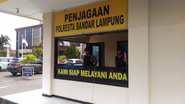 Bom di Polrestabes Medan, Polda Lampung dan Polresta Bandar Lampung Tingkatkan Kewaspadaan