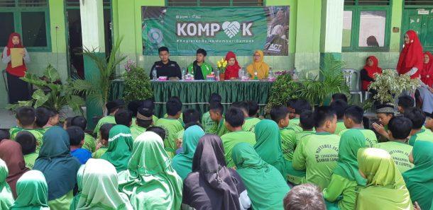 ACT Lampung dan Gojek Resmikan Sarana MCK Madrasah Ibtidaiyah Miftahul Jannah Langkapura