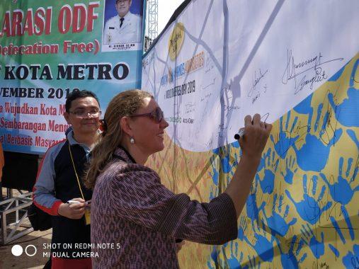 Kementerian Kesehatan Apresiasi Capaian Kota Metro 100 Persen Bebas Perilaku Buang Air Besar Sembarangan