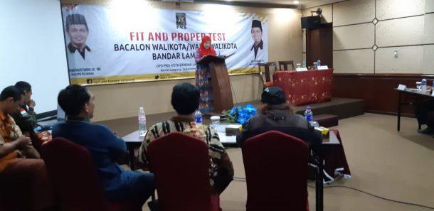 Ditanya Soal Macet oleh Panelis Uji Kelayakan dan Kepatutan PKS Bandar Lampung, Eva Dwiana Jawab Itu Ciri Kota Besar