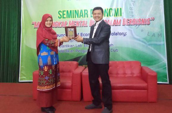 Hasan Ashari Isi Seminar Bisnis di Universitas Muhammadiyah Lampung, Ini Intisari Paparannya