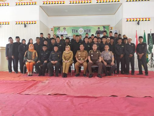 Bupati Tanggamus Dewi Handajani Hadiri Pelantikan Pengurus TTKKDH