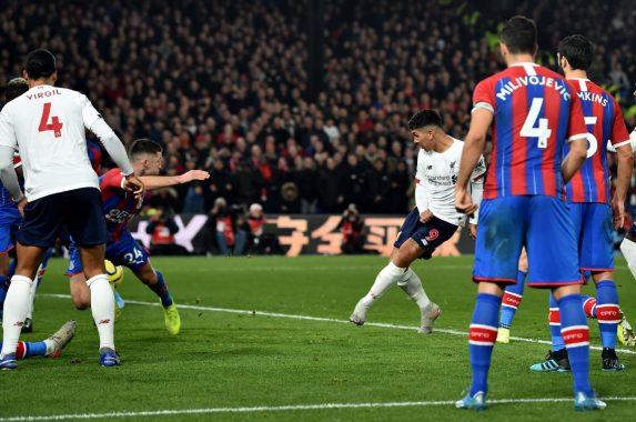 Hantam Crystal Palace 2-1, Liverpool Kokoh di Puncak Klasemen
