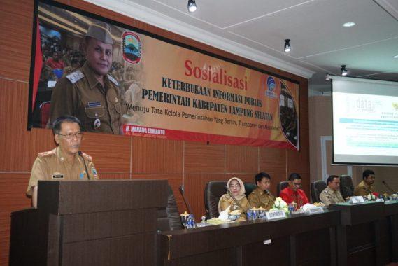 Diskominfo Lampung Selatan Sosialisasi Keterbukaan Informasi Publik