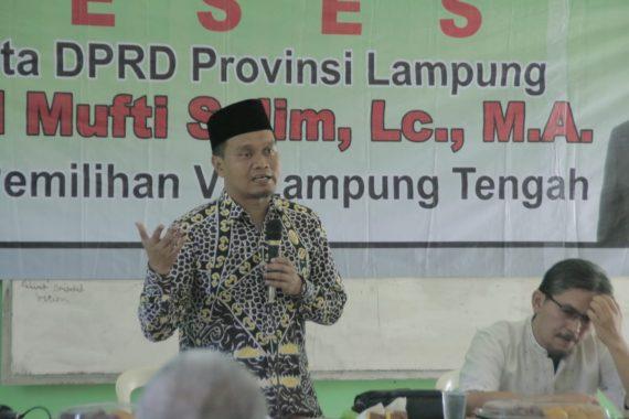 Reses di SMA IT Al Fatih Poncowati, Mufti Salim Kasih Saran Supaya Sekolah Swasta Dapat Murid