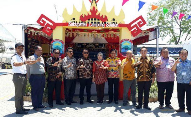 Festival Kuliner Nusantara 2019 di Jawa Tengah, Pemkab Lampung Selatan Pamerkan Tapis Hingga Otak-otak