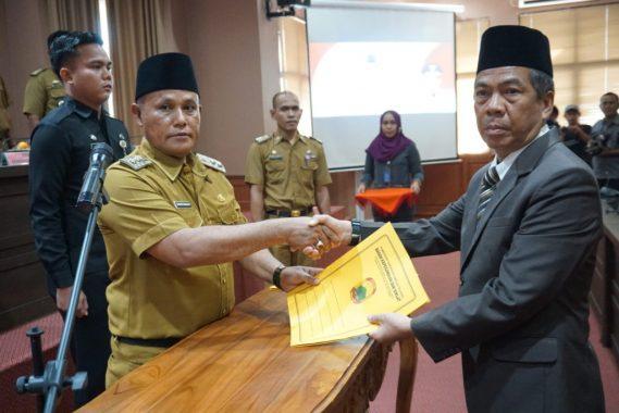 Nanang Ermanto Lantik Kepala BPPRD Lampung Selatan