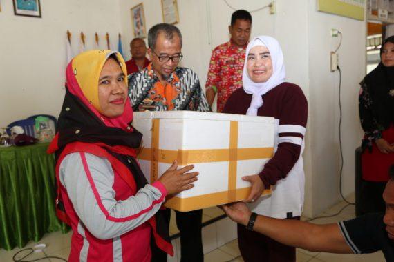 Ketua TP PKK Lampung Selatan Gelar Pembinaan di Desa Taman Agung Kalianda