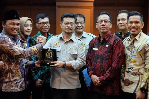 Wahrul Fauzi Telanjangi Habis Masalah Pertanian Lampung, Menteri Pertanian Janji Bikin Konsep Terintegrasi 50 Ha