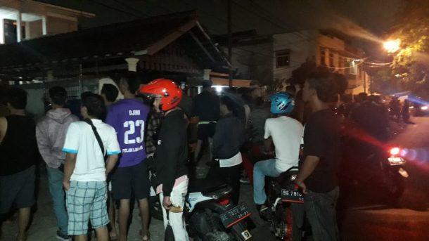 Dua Pencuri Motor Ditembak Mati di Jalan Pulau Ambon Sukarame