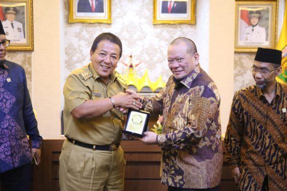 Pemprov Lampung dan DPD Perkuat Kemitraan