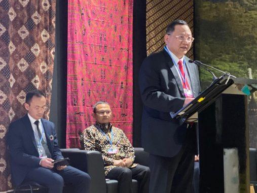 Ketua Komisi IV DPR Daerah Pemilihan Lampung Sudin Pembicara Konferensi Perubahan Iklan di Madrid