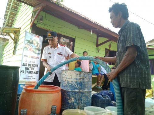 Gojek dan ACT Lampung Kolaborasi Didistribusikan Air Bersih ke Sejumlah Daerah di Bandar Lampung