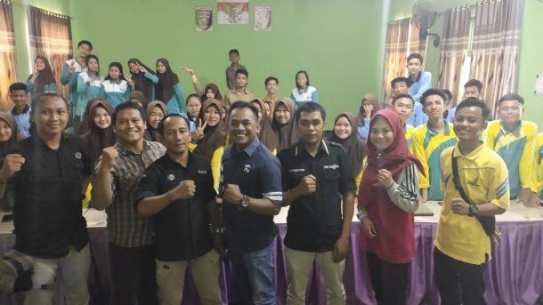 Ikatan Jurnalis Televisi Indonesia Lampung Latih Siswa SMK Bikin Produk Siaran