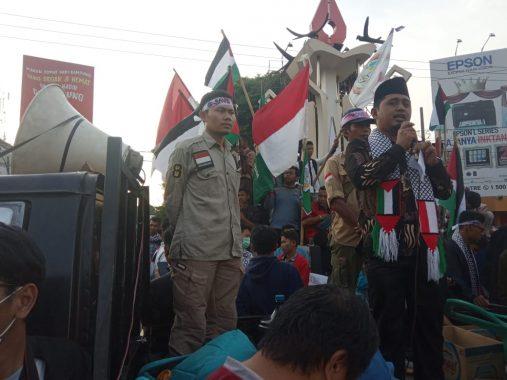 Warga Kota Metro Dukung Perjuangan Rakyat Palestina