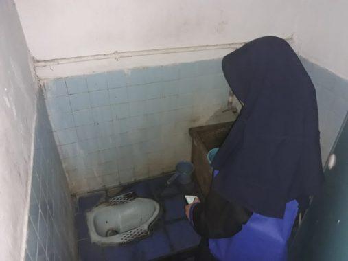 Tiga Toilet SDN 1 Talang Telukbetung Selatan Tidak Penuhi Syarat Sanitasi Baik