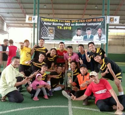 PKS Bandar Lampung Gelar Turnamen Futsal 28-29 Desember 2019