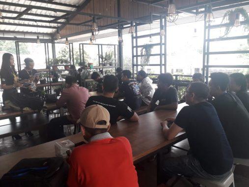 Ifemo Squad Lampung Rayakan Hari Jadi Pertama, Bikin Program di Eatboss Cafe