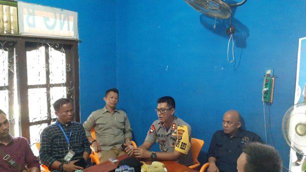 Kapolres Tulangbawang Barat Kunjungi Sekretariat PWI Setempat