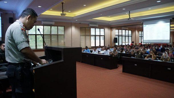 Polres-Pemkab Lampung Selatan Gelar Rakor Kesiapan Operasi Lilin 2019