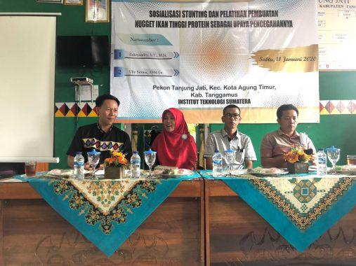 Mahasiswa KKN Itera Sosialisasikan Pencegahan Stunting di Tanggamus