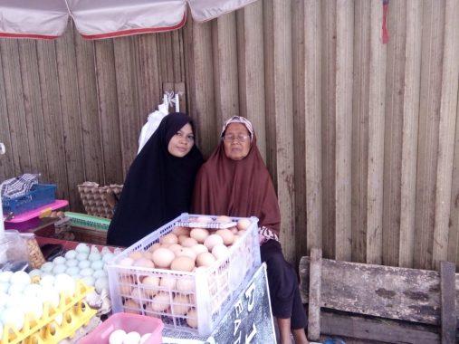 Musim Hujan, Harga Telur di Pasar Tugu dan Pasar Tempel Sukarame Cenderung Stabil