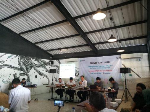 Diskusi Lampung Darurat Ekologis, Irfan Tri Musri: Penegakan Hukum Lemah