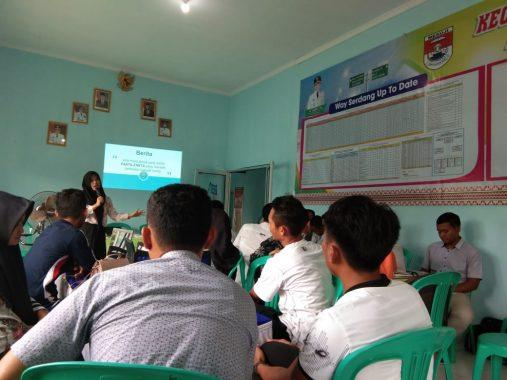 Mahasiswa KKN Unila di Mesuji Bikin Pelatihan Penulisan Rilis