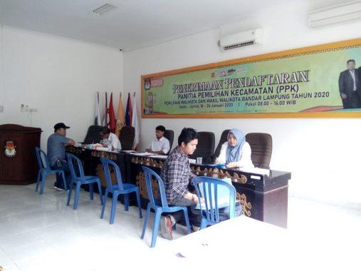 KPU Bandar Lampung Terima 67 Berkas Calon Panitia Pemilihan Kecamatan