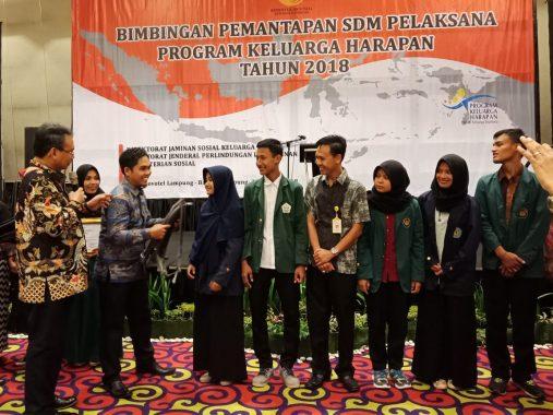 435 Ribuan Keluarga di Lampung Terima Program Keluarga Harapan