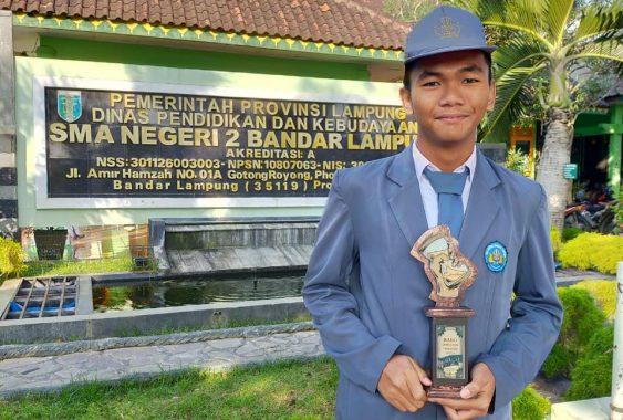 Rizqy Brillian Wahyudi, Ketua Umum Rohis SMAN 2 Bandar Lampung yang Penghafal Alquran