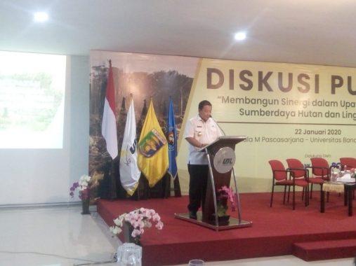 Gubernur Lampung Arinal Djunaidi Sebut Tingkat Kerusakan Hutan Naik 37 Persen