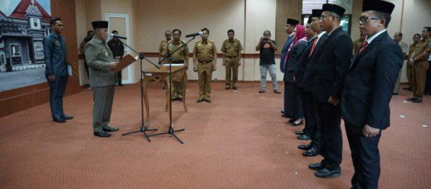 Kantongi Izin Kemendagri, Nanang Ermanto Lantik Enam Pejabat Pemkab Lampung Selatan