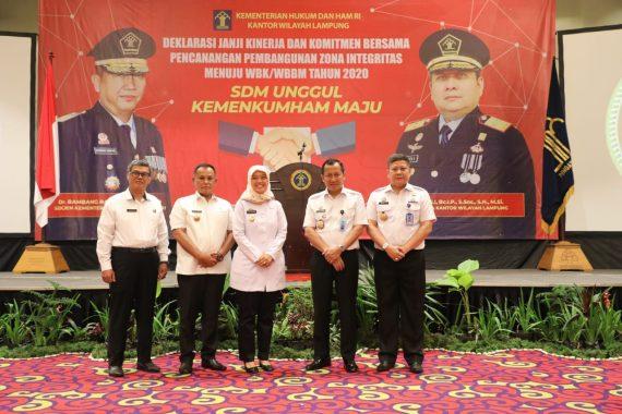 Pemkab Lampung Selatan Hibahkan Tanah Kantor Imigrasi Kalianda