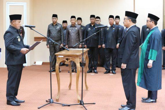 Nanang Ermanto Lantik Pj Sekdakab Lampung Selatan