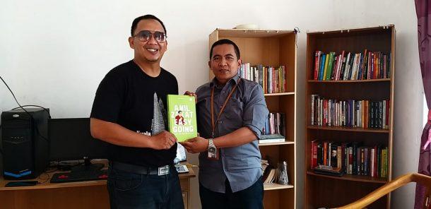 Pemred Jejamo.com Silaturahmi dengan Bakal Calon Bupati Lampung Selatan Ishak