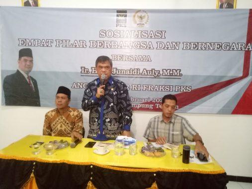 Ahmad Junaidi Auly Sosialisasi 4 Pilar MPR